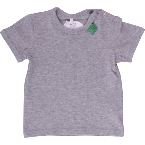 Fred's World by Green Cotton Alfa s/sl T NOOS baby - T-Shirt - T-Shirt - Uni - Manches Courtes - Mixte bébé, Gris (pale Greymarl 207670000), 12 mois