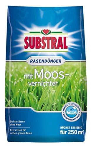 Substral Rasendünger mit Moosvernichter, 9kg für 250m²
