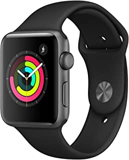 Apple Watch Series 3-42 mm, Space Gray Aluminum Case - MTF32