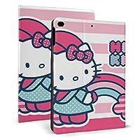 Hello Kitty ハローキティ Ipad Mini 5 ケース Ipad Air Ipad Mini 7.9インチ ケース 収納可能 スタンド機能 2019新型 9.7インチ 軽量 薄型 シンプル 二つ折タイプ 全面保護型 傷つけ防止 手帳型 ケース