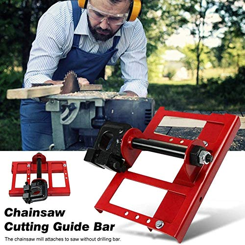 Chainsaw Mill Lumber Cutting Guide Saw Steel Timber Chainsaw Attachment Cut Guided Mill Wood
