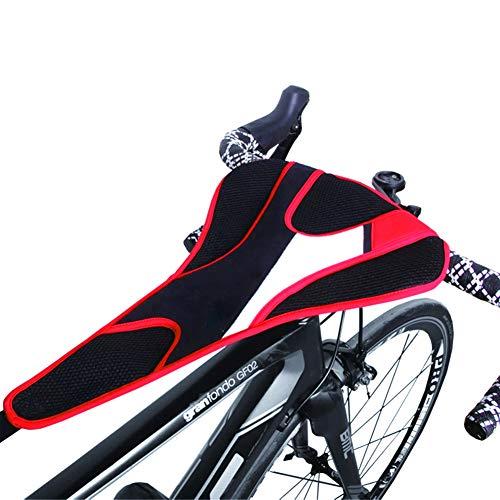 """LOISK Cubierta de Sudor para Entrenamiento Bicicleta Impermeable Elástica Absorber el Sudor para Rodillos Ciclismo Dos Tipos Adecuada para Telefonos Móviles 6.0"""",1 Upgraded Version"""