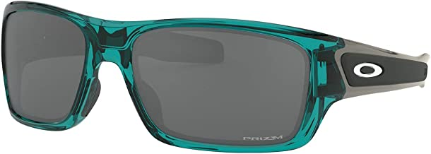 Oakley Men's Turbine XS Sunglasses,OS,Translucent Arctic Surf/Prizm Black