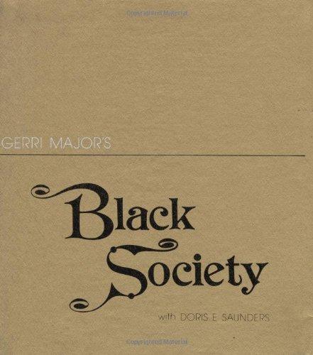 Gerri Major's Black Society PDF Books