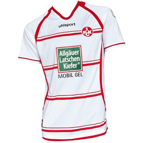 uhlsport FCK 3.Trikot KA, weiß, XXXXL, 1003117010406,