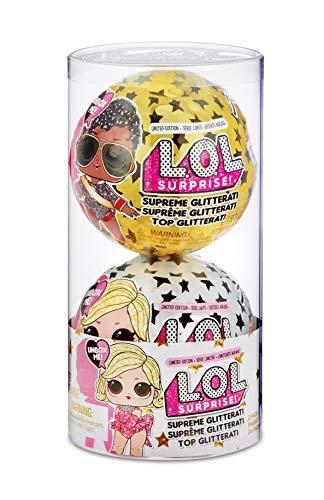 """L.O.L. Surprise Supreme """"Glitter"""" - Confezione da 2 pezzi"""