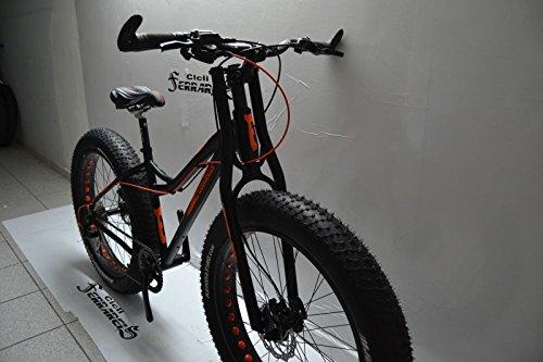 Fahrrad Fat Demon in Aluminium X Sand und Schnee Evo MTB 16,7kg.. Bremse Hydraulische