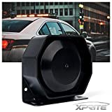 Xprite Compact 200 Watt High Performance Extra Slim Siren Speaker (Capable with Any 100-20...