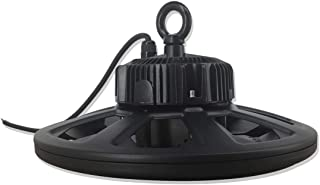 200W UFO LED High Bay Light 5000K, 800W HID Replacement, LUMENS (UL No.:E352519) LED Inside, 5 Years Warranty, UL and DLC Quality