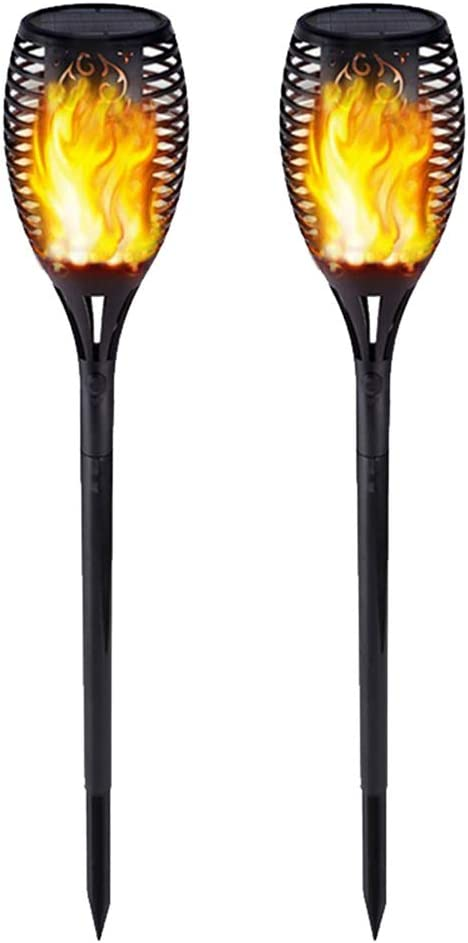 Solar Torches Lights Outdoor Garden Waterproof Max 77% OFF Flame Light High quality new