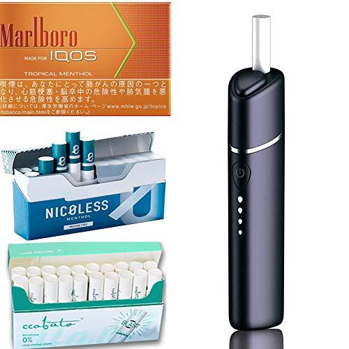 ニコレス タバコ 最適 加熱式 互換機 2020最新 ニコチンなし 電子 タバコ コバト ニコノン Nicoless用デバイス キック感 最強 温度調節 コンパクト 互換機 40本連続吸引 6色選択可 ミニサイズ 超軽量 15秒急速加熱 爆煙 ノンニコチン