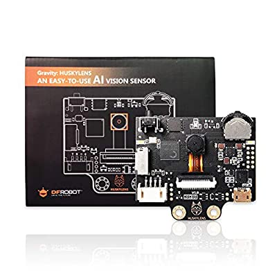 HUSKYLENS - an Easy-to-use AI Machine Vision Sensor/Smart Vision Robot Camera- Face Recognition Tracking for Raspberry Pi, Micro: bit (HUSKYLENS)