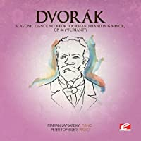 Slavonic Dance 8 Four Hand Piano G Min 46