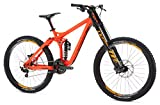Mongoose Men's Boot'R Down Hill Bike 27.5 Wheel, Red, 17.5 inch/Small