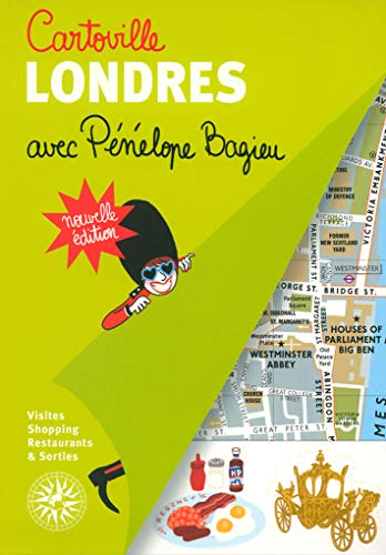 Guide Londres avec Penelope Bagieu