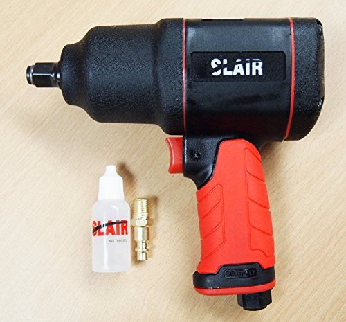 "SLAIR 1/2"" Composite Twin Hammer Air Impact Wrench Max Torque 1050ft/lb XX-785"