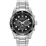 Bulova Sport Collection Reloj cronógrafo Negro para Hombre (Modelo: 98A210)