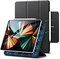 ESR Magnetic Case for iPad Pro 12.9 Inch 2021/2020 (5th Generation/4th Generation), Smart Case with Rebound Magnetic...