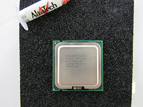Intel 2,66 GHz Core 2 Duo CPU Prozessor hx746 E6750 sla9 V Dell Inspiron 530 540 518 Precision T3400