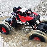 Kikioo RC Car, 4x4 todo terreno rastreadores de Rock Crawlers control remoto de alta velocidad del c...