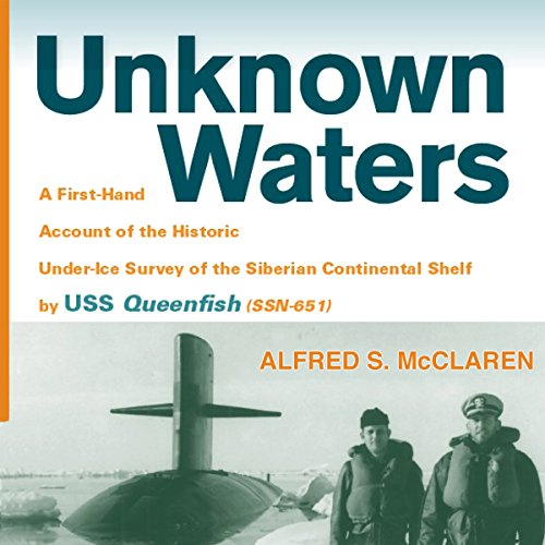 Unknown Waters audiobook cover art