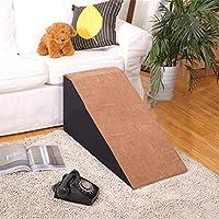 ペットスロープラダー - 猫と犬のバリアフリースロープ階段、ペットベッドノンスリップの援助にとゲット・ダウン (Color : Brown, Size : 30cm)