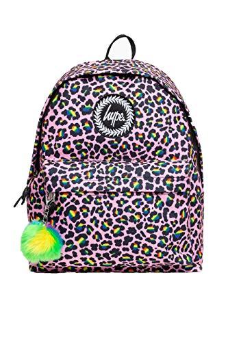 Hype Rainbow Leopard POM Zaino POM, Multi (Multicolore) - BTS20192