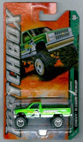 Matchbox 2012-116 MBX National Park Chevy K-1500 Pickup GREEN 1:64 Scale