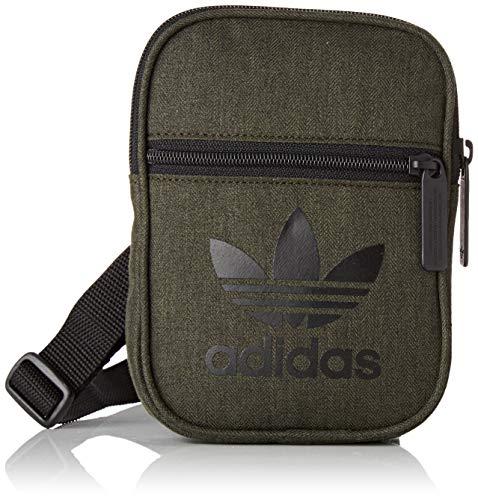 adidas Unisex-Erwachsene FEST BAG CASUAL Umhängetasche, Mehrfarbig (Carnoc/Negro), 24x15x45 centimeters