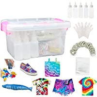 INST Color Fast Tie Dye Kit with Rubber Bands and Table Covers