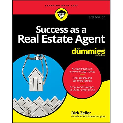 Success as a Real Estate Agent For Dummies, 3rd Edition