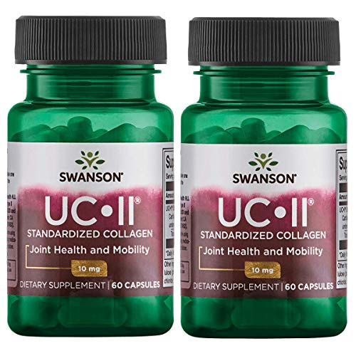 Swanson Uc-Ii Standardized Collagen 10 mg 60 Caps 2 Pack