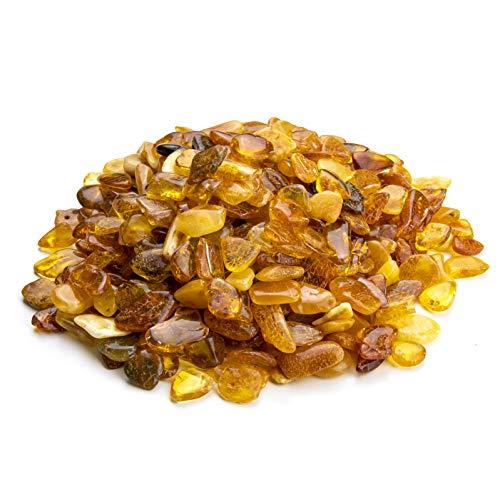Amber Culture Baltischer Bernstein Mix Farbe (keine Löcher) (40 gr)