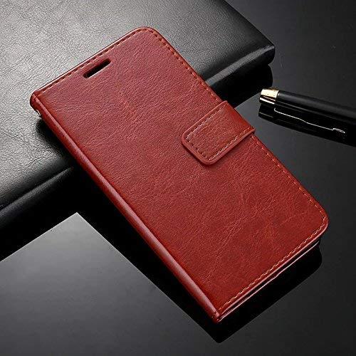 Febelo Xiaomi Mi A2 Cover Case, Inner TPU, Leather Magnetic Lock Flip Cover Case for Redmi Mi A2 / Mi...
