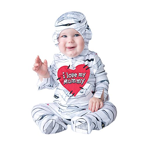 Rasta Imposta Déguisement Garçon Costume I Love My Mummy - 6/12 Mois