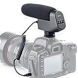 Neuf Boya By-vm600 cardioïde directionnel à condensateur 3,5 mm sur l'appareil photo Fusil Micro interview microphone pour Canon Nikon Sony Pentax DLSR Camera (en mousse et fourrure pare-brise inclus)