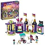 LEGO 41687 Friends Mundo de Magia: Puestos de Feria, Parque de Atracciones de Juguete para Niños y Niñas +6 Años con Mini Muñecas