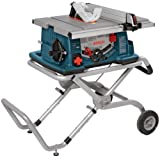 Bosch 10-Inch Worksite Table Saw 4100-09 with Gravity-Rise Wheeled...