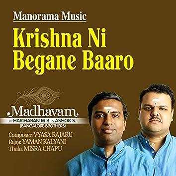 "Krishna Ni Begane Baaro from ""Madhavam"""