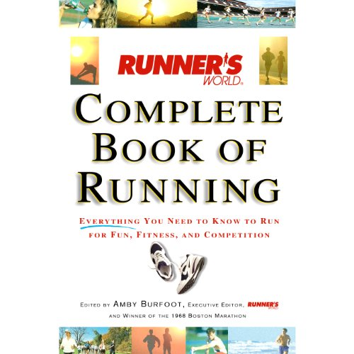 Runner's World Complete Book of Running audiobook cover art