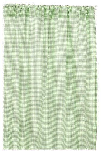 Max 74% OFF Tadpoles Classics Rare Set of 2 Gingham Curtain Sa Panels Pocket Rod