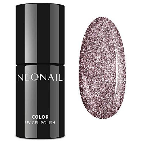 NEONAIL Rosa Glitzerlack UV Nagellack 7,2 ml SHINE THE MOMENTS UV LED 8357-7