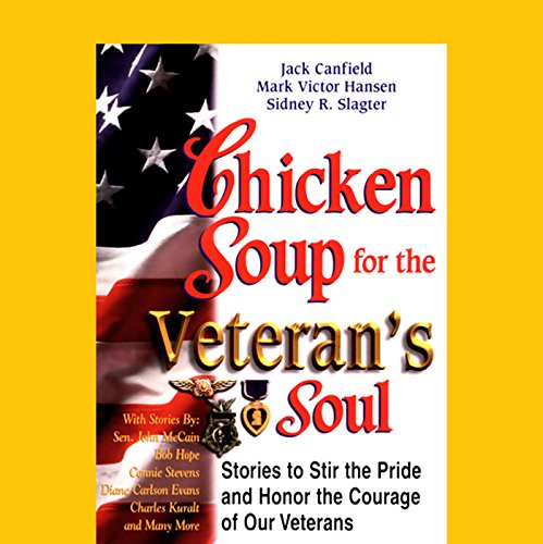 Chicken Soup for the Veteran's Soul audiobook cover art