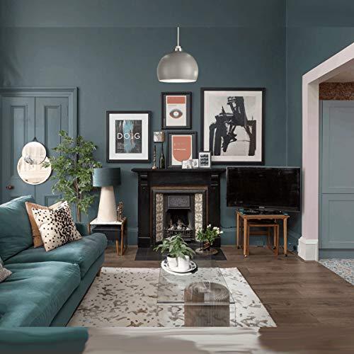 CGC Lampenschirm, rund, Metall, kuppelförmig, für Stehtische, Decken, Hängeleuchte, Küche, Frühstück, Bar, Lounge, Schlafzimmer, Esszimmer