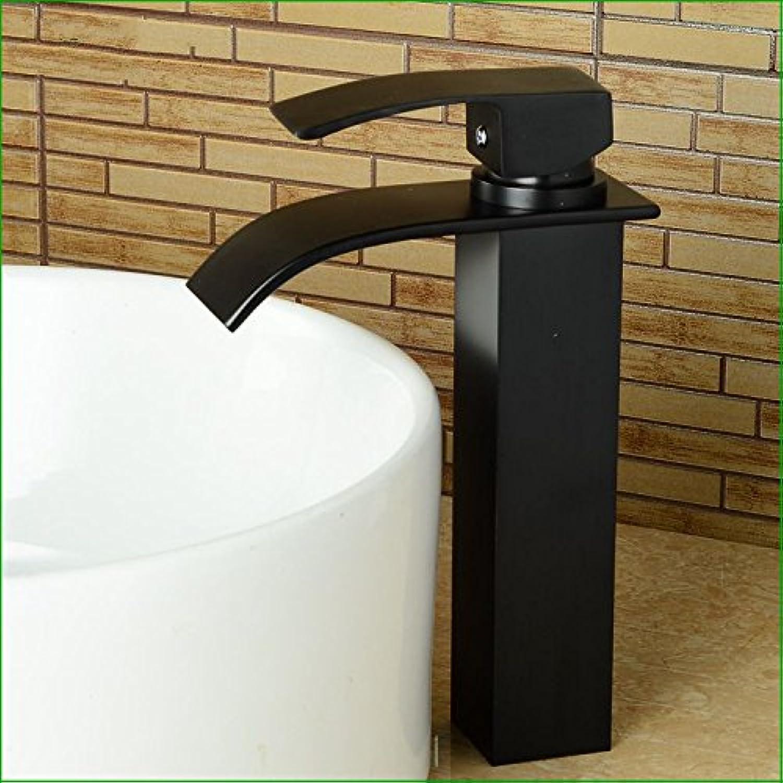 Lvsede Bad Wasserhahn Design Küchenarmatur Niederdruck Kupferbronze über Aufsatzbecken Wasserfall Warm- Und Kaltwassermischer L5789