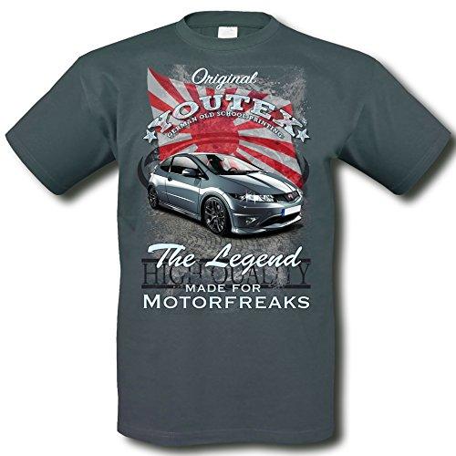 youtex Hond Civic Type-R Vintage T-Shirt (M)
