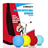 sumgott Boxing Reflex Ball BOXING Ultimate Reflex Ball Set Upgraded Boxing Training Ball Mma Speed Training Suitable for Adult Kids Boxing Equipment for Training Hand Eye Coordination Fitness
