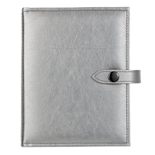 Small Size SILVER - Little Little Book of Earrings - A Small Book for Keeping Your Earrings Safe!