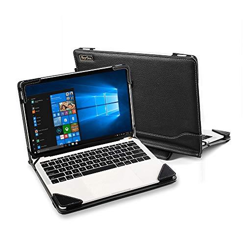 Funda para ASUS VivoBook Flip 14 X411 X412 TP410UA TP401NA TP401CA Bolsa de Ordenador Portátil Manga de Negocios Soporte PC Funda de Piel Protectora