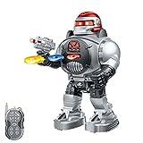 HSP Himoto RC Ferngesteuerter Kampf Roboter mit LED-Beleuchtung, Modell, Infrarot Fernbedienung, mit vielen Besonderheiten wie Tanz- und Schussfunktion, Neu OVP -